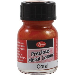 Coral - Viva Decor Precious Metal Color 25Ml