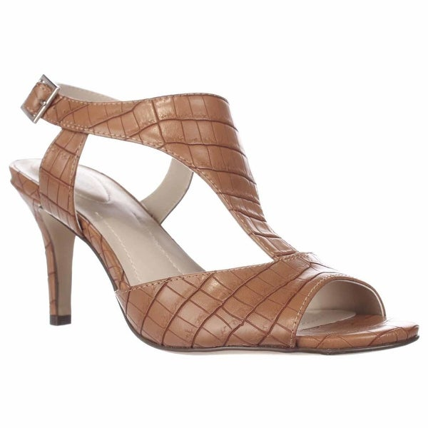 SC35 Saharii T-Strap Dress Sandals, Toasted Almond - 7.5 us