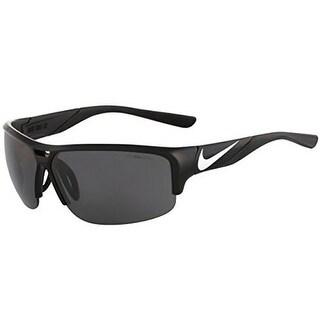 Nike EV0870-001 Sunglasses Golf X2 Black Metallic Silver Frame Gray Lens