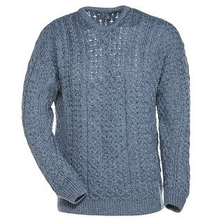 Men's Aran Pullover Sweater (More options available)
