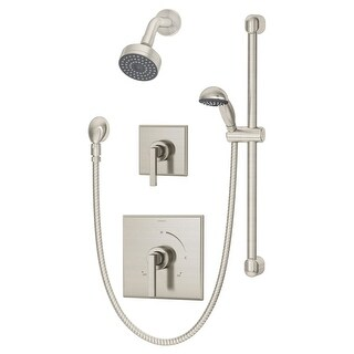 Symmons 3605-H321-V-1.5 Duro 1.5 GPM Single Function Shower Head with Hand Showe