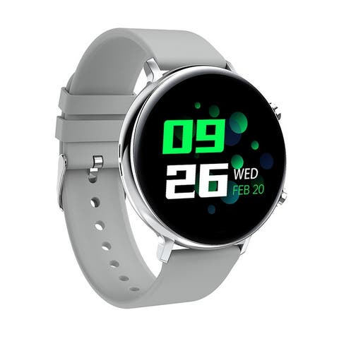 Bluetooth Smart Watch IP68 Waterproof Fitness Bracelet Blood Pressure Monitor for Android IOS