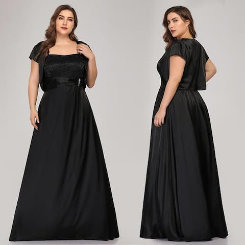 Ever-Pretty Women Plus Size Long Formal Evening Dresses 07726