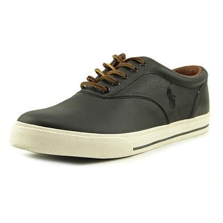 Polo Ralph Lauren Vaughn Saddle Men Round Toe Leather Sneakers