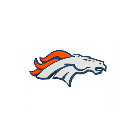 NFL Denver Broncos Logo Foam Sign