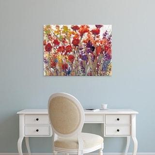 Easy Art Prints Tim OToole's 'Variety of Flowers I' Premium Canvas Art
