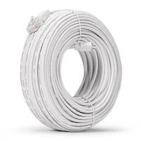 98 ft. Network cable, White