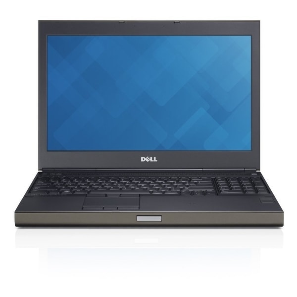 Dell Precision M4800 15.6-in Refurb Laptop - Intel i7 4910MQ 4th Gen 2.90 GHz 16GB 256GB SSD DVD-RW Windows 10 Pro - Webcam. Opens flyout.