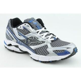 Mizuno Wave Rider 13 Men 2E Round Toe Synthetic Silver Running Shoe