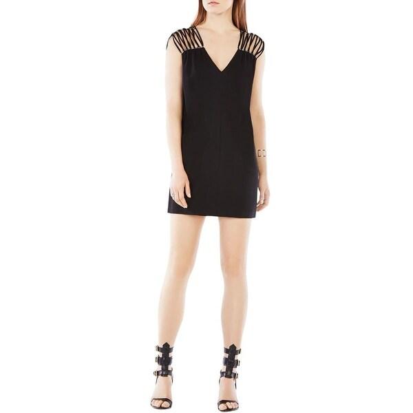 e972df53c30 Shop BCBG Max Azria Womens Arielle Cocktail Dress Embellished ...
