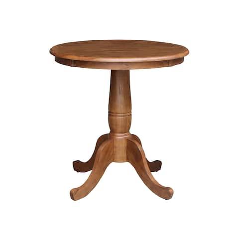 "30"" Round Top Pedestal Table"