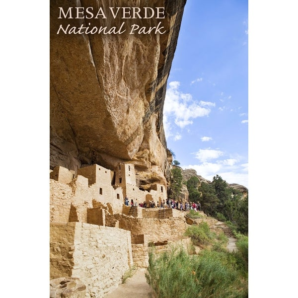 902e081f Shop Mesa Verde National Park, Colorado - Cliff Palace Tour Photograph (Art  Print - Multiple Sizes Available) - 9 x 12 Art Print - Free Shipping On  Orders ...