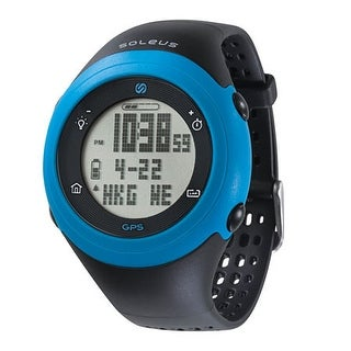 Soleus GPS Fly- Black/Blue Watch