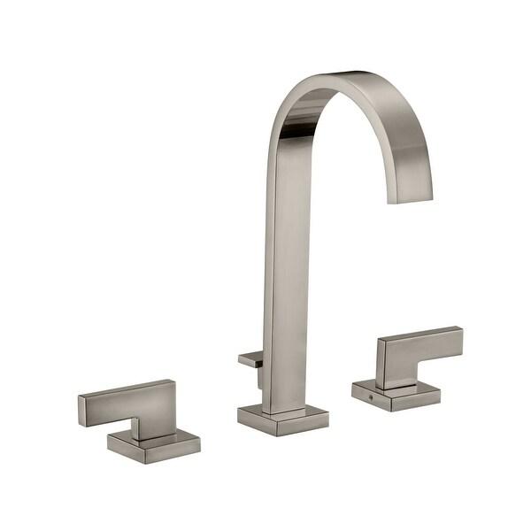Design House 547653 Karsen 1.2 GPM Widespread Bathroom Faucet   Includes  Metal Pop Up Drain