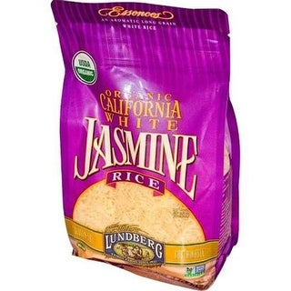 Lundberg Family Farms - Organic White Jasmine Rice ( 6 - 32 oz bags)