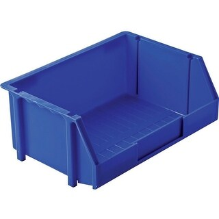 Stack-On BIN-8 Medium Parts Storage Organizer Bin, Blue