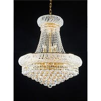 French Empire Crystal Chandelier Chandeliers - Gold