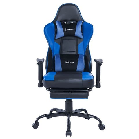 Gaming Chair Office Chair - Ergonomic Fabric Computer Game Chair with Adjustable Armrest High Back, Desk Chair with Mute Casters