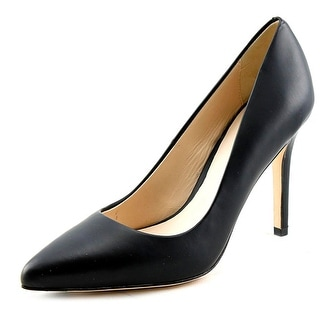 Cole Haan Emery Pump 100 Women  Pointed Toe Leather Black Heels