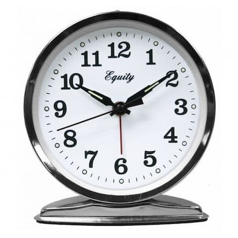 Equity 24014 Analog Keywind Loud Bell Alarm Clock