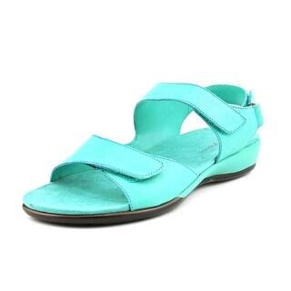 Easy Spirit Hartwell N/S Open Toe Leather Gladiator Sandal