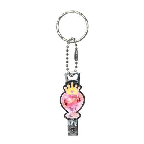 "Disney's Princess Nail Clipper Key Ring: ""Princess Logo"" - Multi"