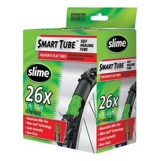 "Slime 30045 Smart Tube Bicycle Inner Tube, 26""x1.75""-2.125"""