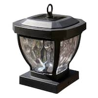 """Classy Caps SL994 Manchester Single Light 6-1/2"""" High Integrated LED Outdoor Post Light"""