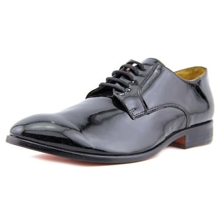 Freelayer 140709 Men Round Toe Patent Leather Black Oxford