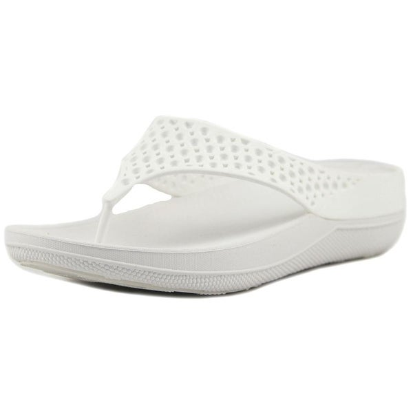 5ed9bca7c8d327 Shop FitFlop Ringer Welljelly Urban White Sandals - Ships To Canada ...