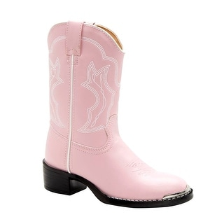 Durango BT858 Youth W Round Toe Synthetic Pink Western Boot