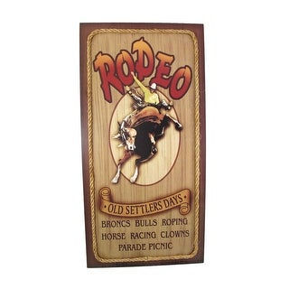 `Old Settlers Days` Western Rodeo Wall Sign