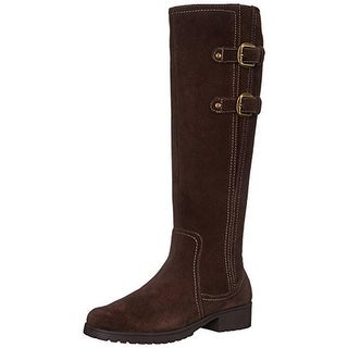 Aerosoles Womens Love Note Riding Boots Suede Knee-High