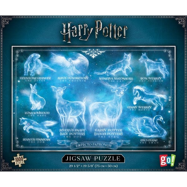 Jigsaw puzzle Entertainment Harry Potter Hogwarts Expecto Patronum 1000 piec NEW