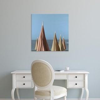 Easy Art Prints Alan Blaustein's 'Grossetto Parasol #2' Premium Canvas Art