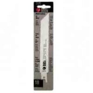 "Black & Decker 75-487 Metal Cut Reciprocating Saw Blade, 6"""
