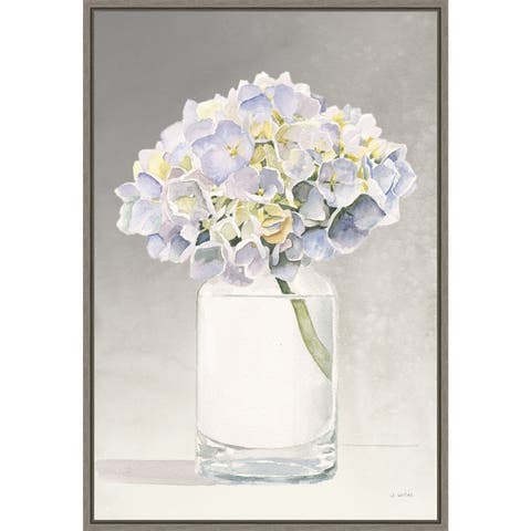 Tranquil Blossoms III by James Wiens Framed Canvas Art