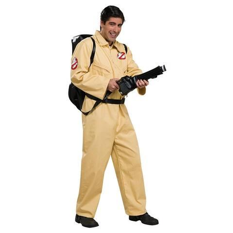 Ghostbusters Deluxe Costume Adult - Beige