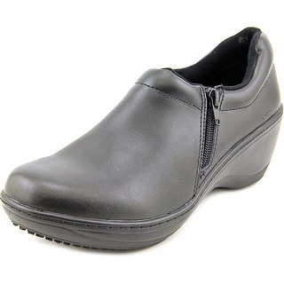 Spring Step Pro Milana Round Toe Leather Work Shoe