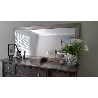 Strick & Bolton Cildo Silver Floor Mirror