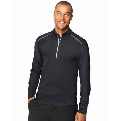 Hanes Sport Men's Performance Quarter-Zip Sweatshirt