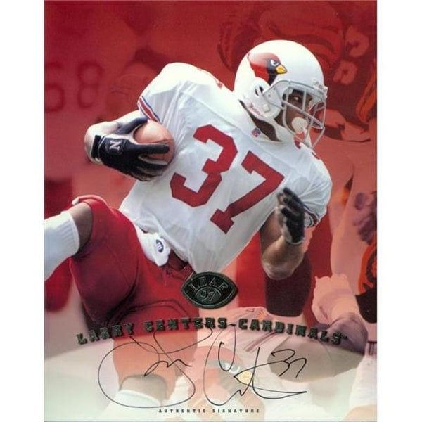 ac8d1b20 Shop Larry Centers Autographed 8 x 10 Photo Arizona Cardinals - Free ...