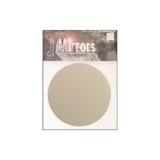"Darice Mirror Pkg Round 5"" 1pc"