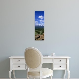 Easy Art Prints Panoramic Images's 'Beaver Meadows Rocky Mt National Park CO USA' Premium Canvas Art
