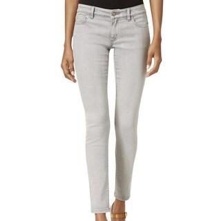 Michael Kors NEW Gray Women's Size 16 Cropped Skinny Denim Jeans
