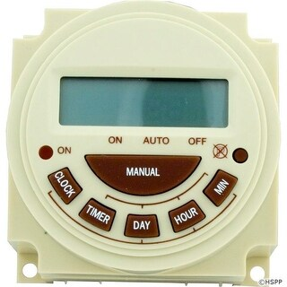 Timer, Intermatic, SPST, Panel Mount, 230v, 20A, 7day, Electric
