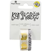 Paper House Washi Tape 2/Pkg-Elephants By Karmabee