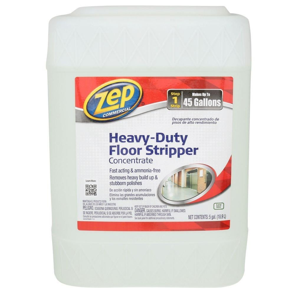 Zep Commercial Zulffs5g Heavy Duty Floor Stripper Concentrate 5 Gallon