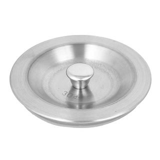 Kitchen Stainless Steel Water Drain Sink Strainer Bathtub Stopper Plug