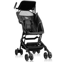Costway Buggy Portable Pocket Compact Lightweight Stroller Easy Handling Folding Travel - Black